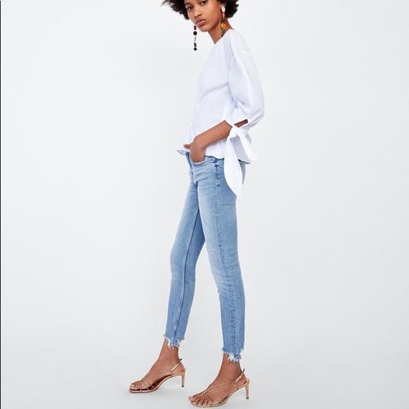 5d0c715a Zara Jeans   Skinny Sonora Blue   Poshmark